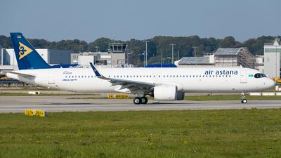 D-AVZR - Airbus A321-271NX - Air Astana