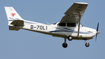 B-70L1 - Cessna 172S Skyhawk SP - Civil Aviation Flight University of China