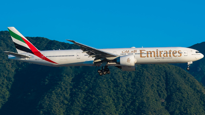 A picture of A6ECO - Boeing 77736N(ER) - Emirates - © AN888