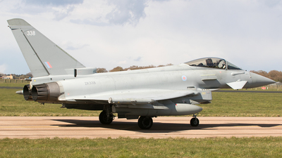 ZK338 - Eurofighter Typhoon FGR.4 - United Kingdom - Royal Air Force (RAF)