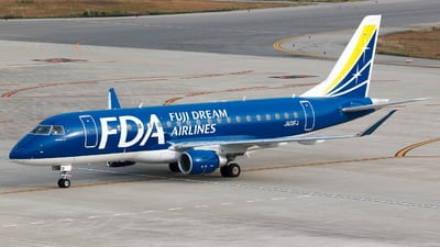 JA13FJ - Embraer 170-200STD - Fuji Dream Airlines