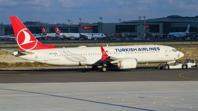 A picture of TCLCL - Boeing 737 MAX 8 - Turkish Airlines - © Harun Arda
