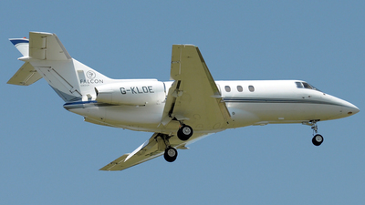 G-KLOE - Hawker Beechcraft 800XP - Gama Aviation