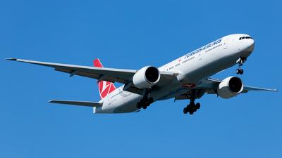 A picture of TCLJC - Boeing 7773F2(ER) - Turkish Airlines - © Ömür Sadikoglu