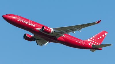A picture of OYGRN - Airbus A330223 - Air Greenland - © Martin Grotter