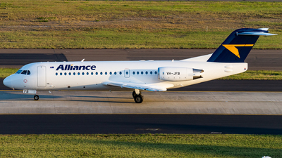 VH-JFB - Fokker 70 - Alliance Airlines