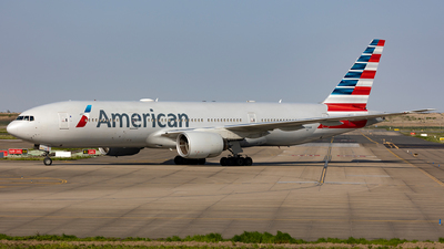 A picture of N793AN - Boeing 777223(ER) - American Airlines - © SakaiWakana