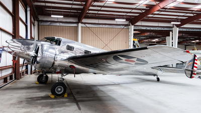 N93R - Lockheed 12A Electra - Private