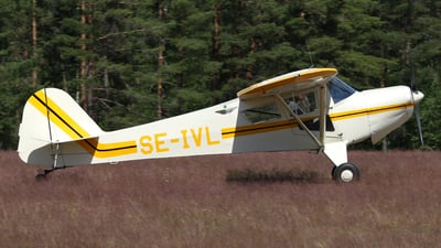 SE-IVL - Taylorcraft F-21B - Private