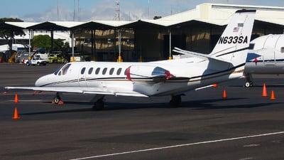 N633SA - Cessna 560 Citation V - Private