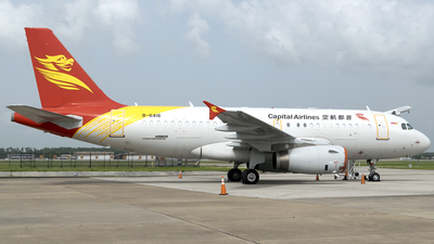 B-6418 - Airbus A319-133X(CJ) - Capital Airlines