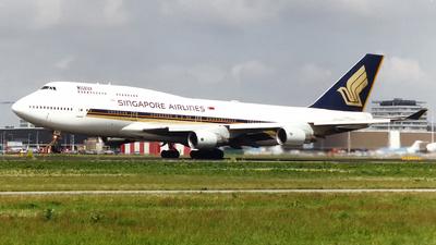 9V-SMH - Boeing 747-412 - Singapore Airlines
