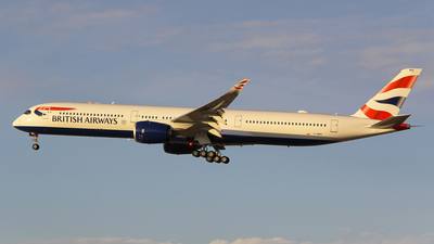 G-XWBA - Airbus A350-1041 - British Airways