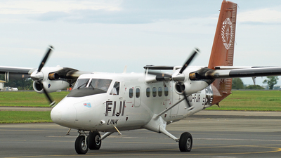 A picture of DQFJR - Viking DHC6400 Twin Otter - Fiji Airways - © Peter Kesternich