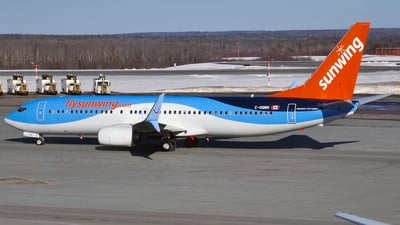 C-GQWH - Boeing 737-8K5 - Sunwing Airlines