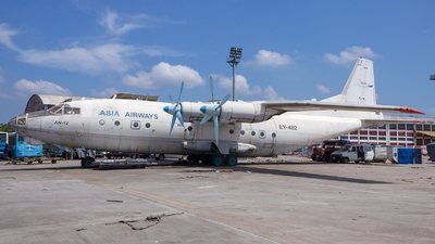 EY-402 - Antonov An-12BP - Asia Airways