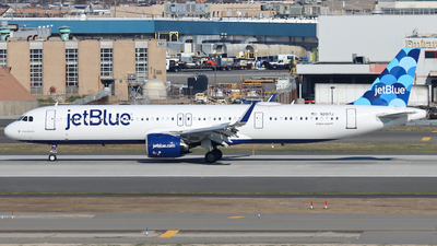 N2017J - Airbus A321-271NX - jetBlue Airways