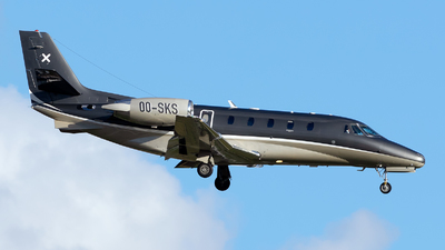 OO-SKS - Cessna 560XL Citation XLS - Luxaviation
