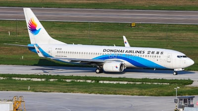 A picture of B1533 - Boeing 73783Z - Donghai Airlines - © Chengongyu35