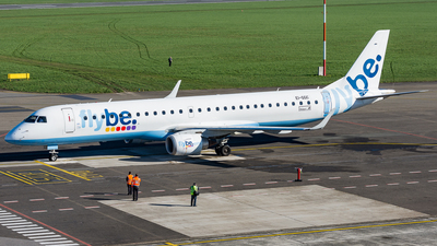 EI-GGC - Embraer 190-200LR - Flybe (Stobart Air)