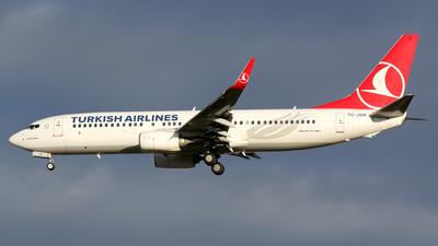 TC-JVR - Boeing 737-8F2 - Turkish Airlines