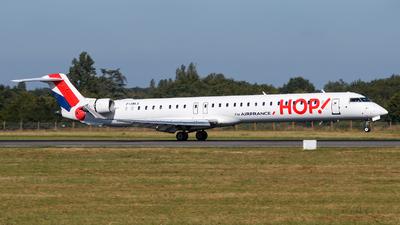 A picture of FHMLK - Mitsubishi CRJ1000EL - Air France - © Alexis Boidron