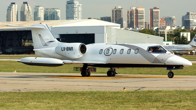 LV-BNR - Bombardier Learjet 35A - Private