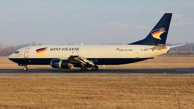 G-JMCS - Boeing 737-4Y0(SF) - West Atlantic Airlines