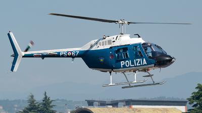PS-67 - Agusta-Bell AB-206B JetRanger III - Italy - Polizia di Stato
