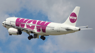 LZ-WOW - Airbus A320-232 - WOW Air