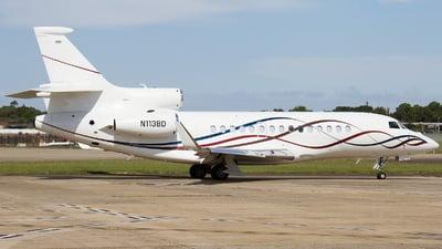 N113BD - Dassault Falcon 7X - Private