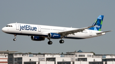 D-AVXZ - Airbus A321-231 - jetBlue Airways
