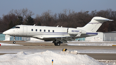 N235EF - Bombardier BD-100-1A10 Challenger 300 - Private