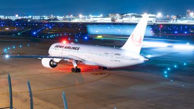 JA849J - Boeing 787-8 Dreamliner - Japan Airlines (JAL)