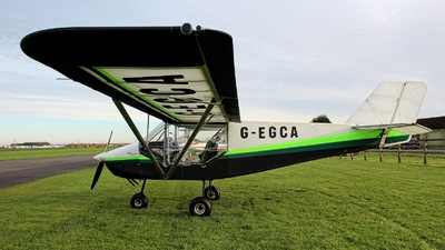 G-EGCA - Rans S-6ES Coyote II - Private