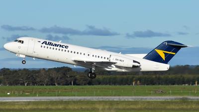 VH-NUY - Fokker 70 - Alliance Airlines