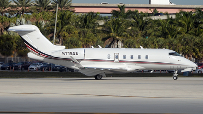 N775QS - Bombardier BD-100-1A10 Challenger 350 - Private