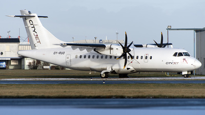 OY-RUO - ATR 42-500 - CityJet (Danish Air Transport)