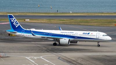 A picture of JA136A - Airbus A321272N - All Nippon Airways - © Christopher Tan