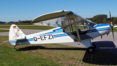 D-EFZI - Piper PA-18-95 Super Cub - Private