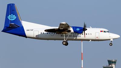 OB1770P - Fokker 50 - Mongolian Airways