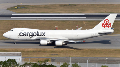 LX-ECV - Boeing 747-4HQF(SCD) - Cargolux Airlines International