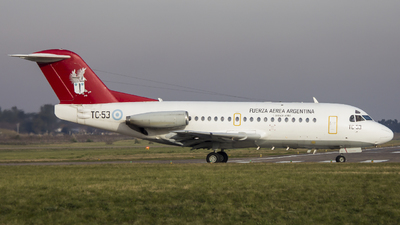 TC-53 - Fokker F28-1000C Fellowship - Argentina - Air Force