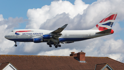 G-CIVE - Boeing 747-436 - British Airways