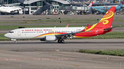 A picture of B206H - Boeing 73784P - Hainan Airlines - © Leng Hao