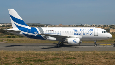 5A-WLA - Airbus A319-112 - Libyan Wings
