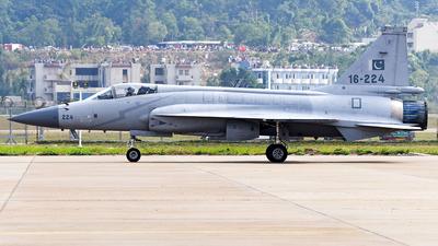 16-224 - Pakistan JF-17 Thunder - Pakistan - Air Force