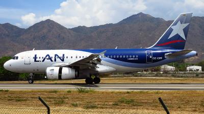 A picture of CCCPF - Airbus A319132 - LATAM Airlines - © Luis C. Zurita