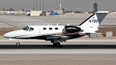 A picture of N795T - Cessna 510 Citation Mustang - [5100357] - © Khoa Vu