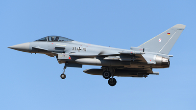 31-51 - Eurofighter Typhoon EF2000 - Germany - Air Force